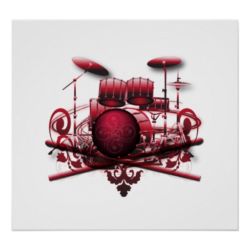 red-drum-design posters