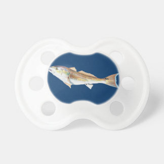 Red Drum Navy Pacifier