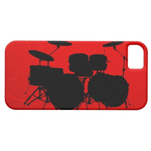 Red Drum Vector iPhone 5 Cases