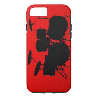 Red Drum Vector iPhone 7 Case