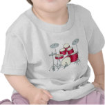 Red Drums Baby T-Shirt
