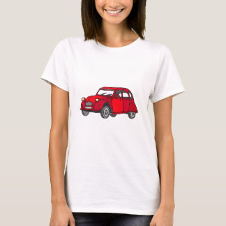 Red duck (2CV) T-Shirt