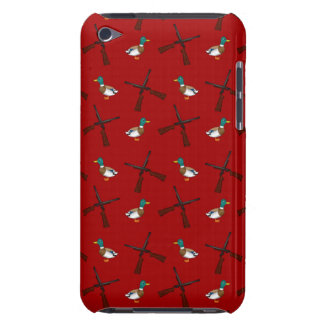 red duck hunting pattern iPod touch cover