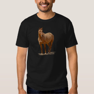 Red Dun Horse-lover's Equine Gift Design Shirts