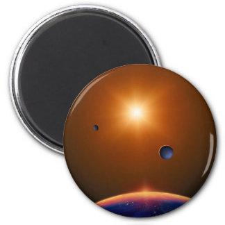 Red Dwarf 6 Cm Round Magnet