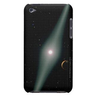 Red Dwarf Star AU Microscopii iPod Case-Mate Case