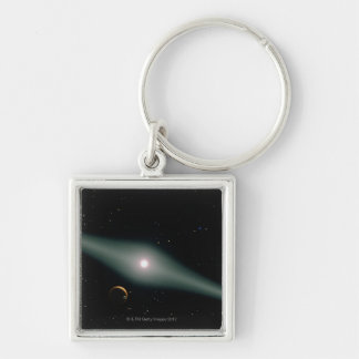 Red Dwarf Star AU Microscopii Key Ring