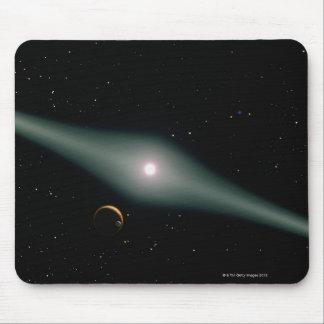 Red Dwarf Star AU Microscopii Mouse Pad