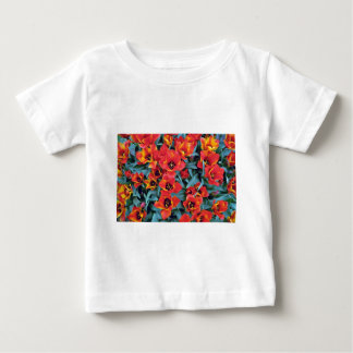 Red Dwarf Tulips flowers T Shirts