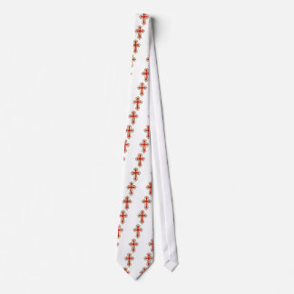 Red Easter Cross Tie