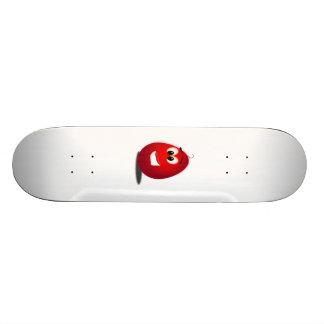 Red Easter Egg Skateboard Decks
