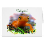 Red Eft Earth Day Cards