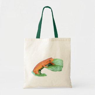 Red Eft Salamander Nature Tote Bag