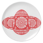 RED EGGS Plate