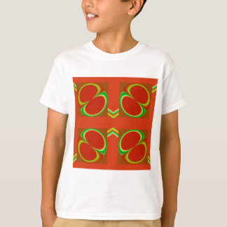 Red eight T-Shirt