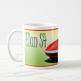 Red Elan S4 Coffee Mug