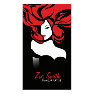 RED ELEGANCE > Glamour Business Card