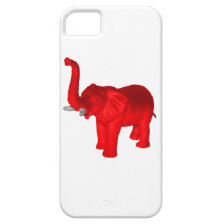 Red Elephant iPhone 5 Case