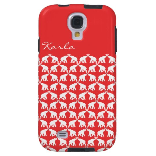 Red Elephant Samsung Galaxy S4 Vibe Galaxy S4 Case