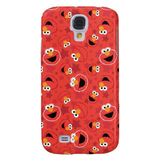 Red Elmo Faces Pattern Galaxy S4 Case