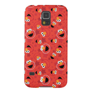 Red Elmo Faces Pattern Galaxy S5 Cases
