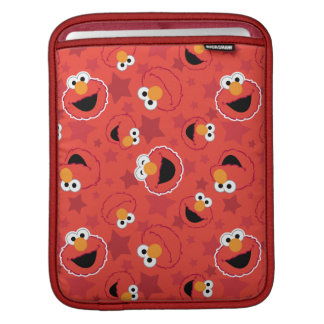Red Elmo Faces Pattern iPad Sleeves