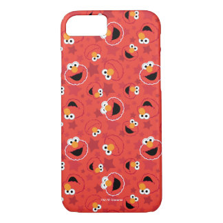 Red Elmo Faces Pattern iPhone 8/7 Case