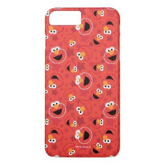 Red Elmo Faces Pattern iPhone 8 Plus/7 Plus Case