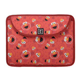 Red Elmo Faces Pattern Sleeve For MacBooks