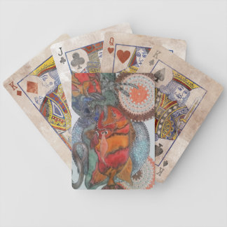 Red emperor bicycle playing cards