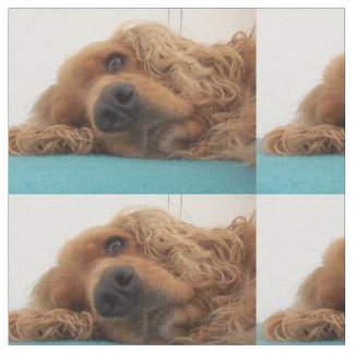 red english cocker spaniel 2.png fabric