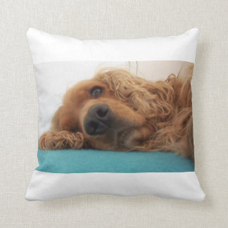 red english cocker spaniel 2.png throw pillow