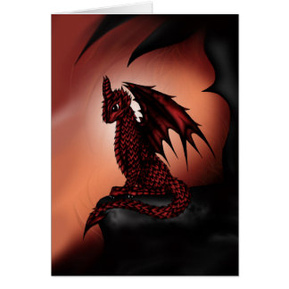 red epic Dragon Card