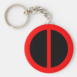 Red Equality Keychain
