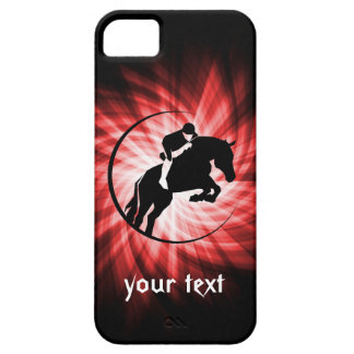 Red Equestrian iPhone 5 Cover