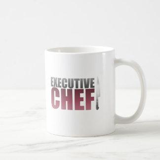 Red Executive Chef Coffee Mug