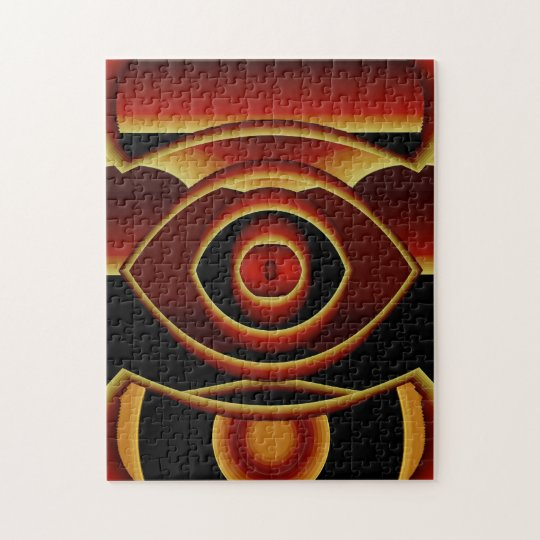 Red Eye.. Jigsaw Puzzle