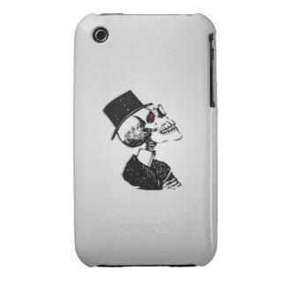 Red Eye Skeleton iPhone 3 Case-Mate Case