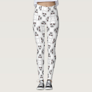 Red Eye Skulls Leggings