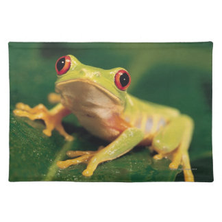 Red eye tree frog placemat