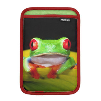 Red Eye Treefrog, Agalychinis callidryas, Native iPad Mini Sleeve