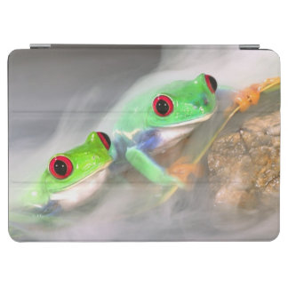 Red Eye Treefrog in the mist, Agalychinis 2 iPad Air Cover