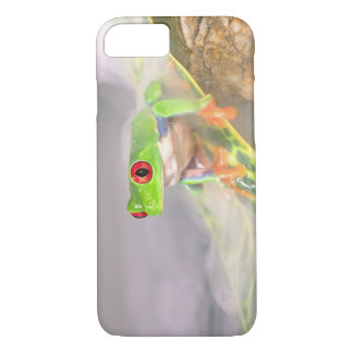 Red Eye Treefrog in the mist, Agalychinis iPhone 8/7 Case