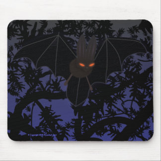 Red-Eyed Bat in Tree Mouse Pad