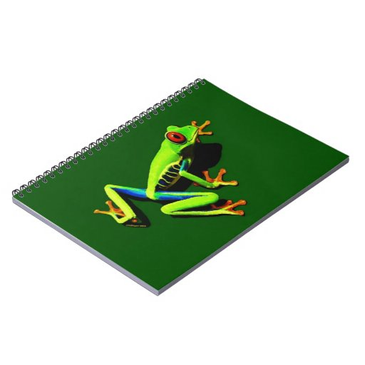 Red-Eyed Green Tree Frog Notebook
