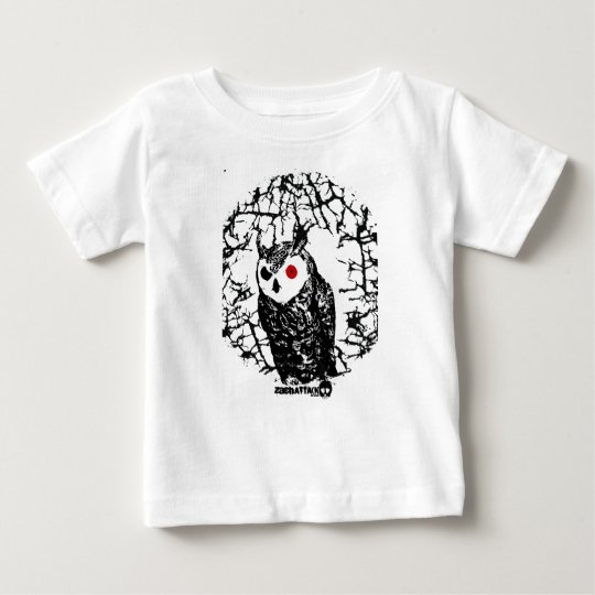 Red Eyed Owl Baby T-Shirt