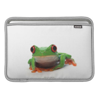 Red eyed tree frog 2 sleeve for MacBook air
