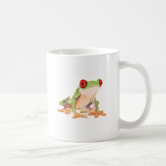 Red-eyed tree frog Baby Jersey Bodysuit Basic White Mug