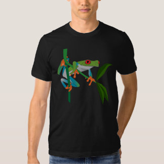 Red Eyed Tree Frog (blank) Tee Shirts