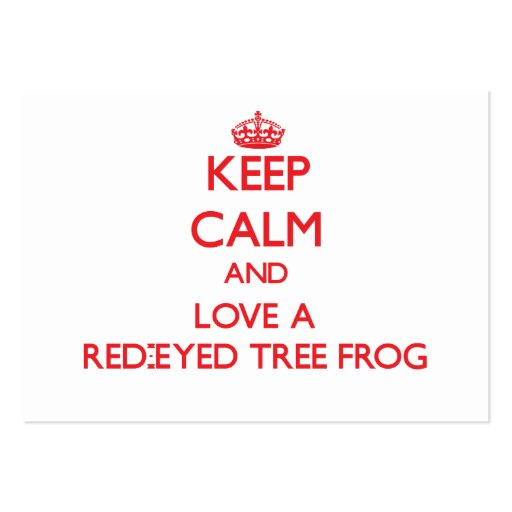 Red-Eyed Tree Frog Business Cards